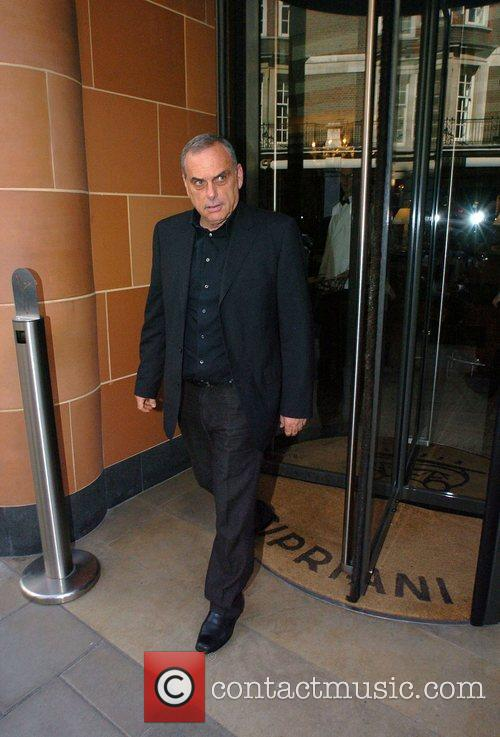 Avram Grant  The ex Chelsea manager leaving...