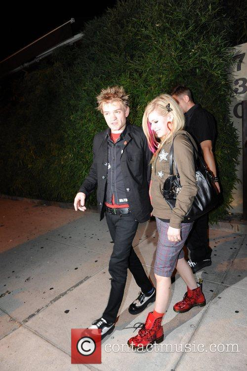 Avril Lavigne and Deryck Whibley 4