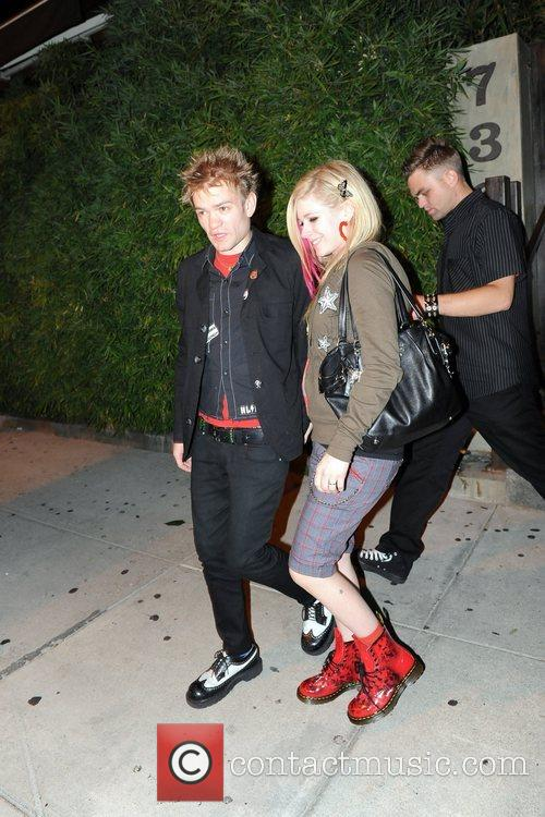Avril Lavigne and Deryck Whibley 2