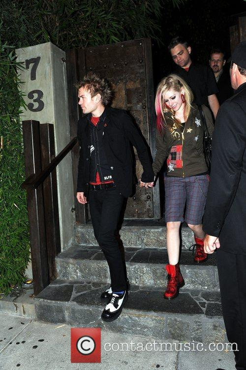 Avril Lavigne and Deryck Whibley 7