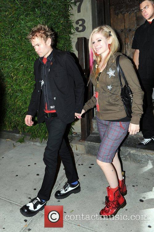 Avril Lavigne and Deryck Whibley 3