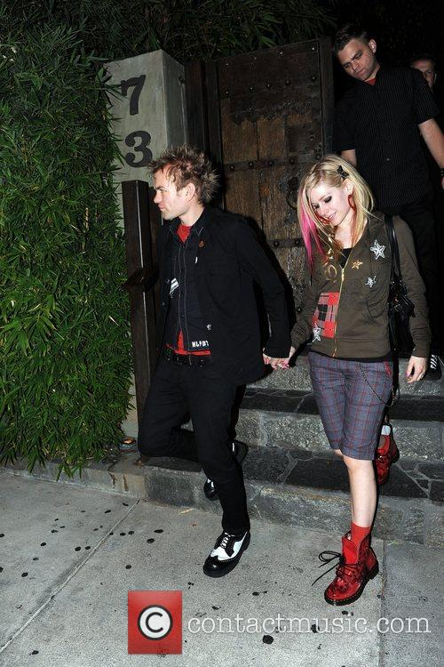 Avril Lavigne and Deryck Whibley 6
