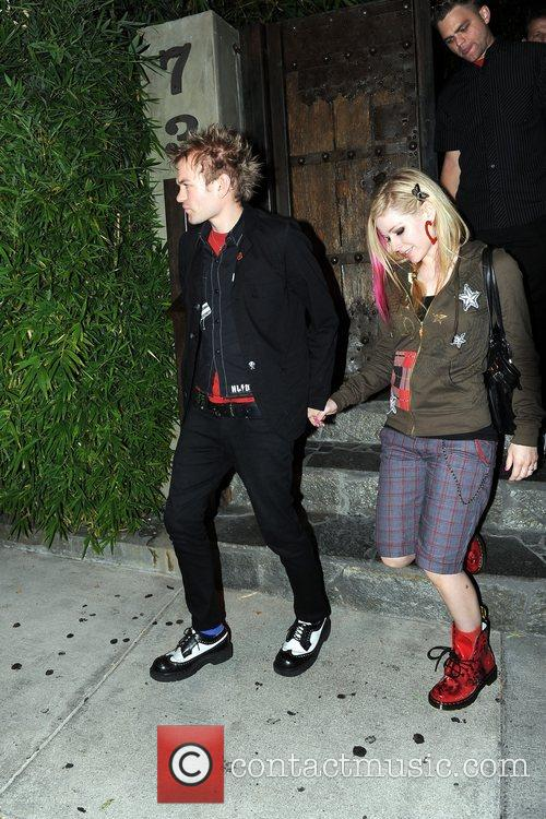 Avril Lavigne and Deryck Whibley 5