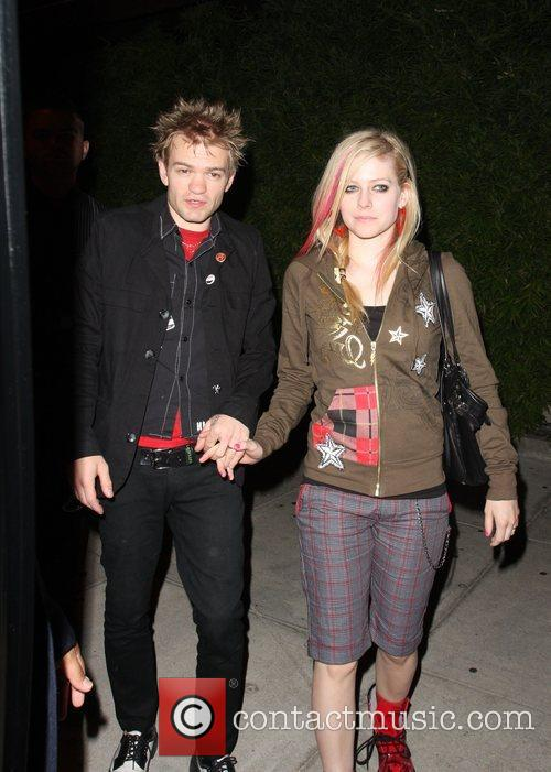 Avril Lavigne and Deryck Whibley 9