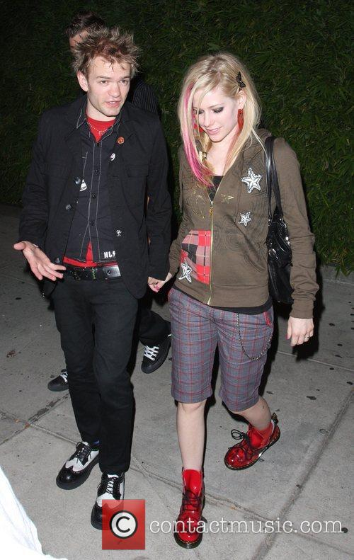 Avril Lavigne and Deryck Whibley 10