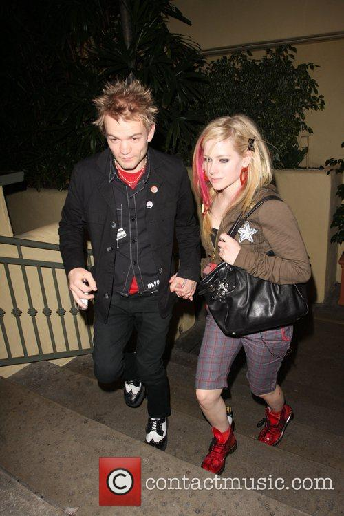 Avril Lavigne and Deryck Whibley 8