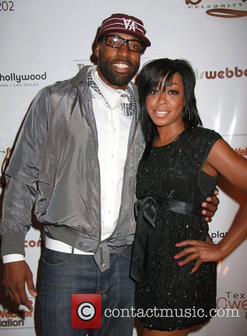 Baron Davis and Tichina Arnold 1