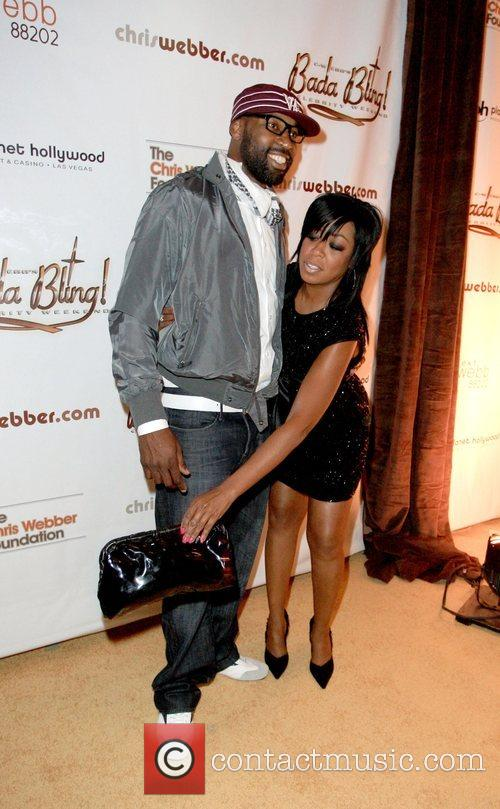 Baron Davis and Tichina Arnold 2