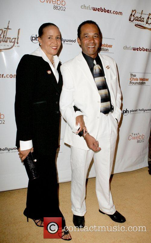 Clifton Davis and Monica Davis