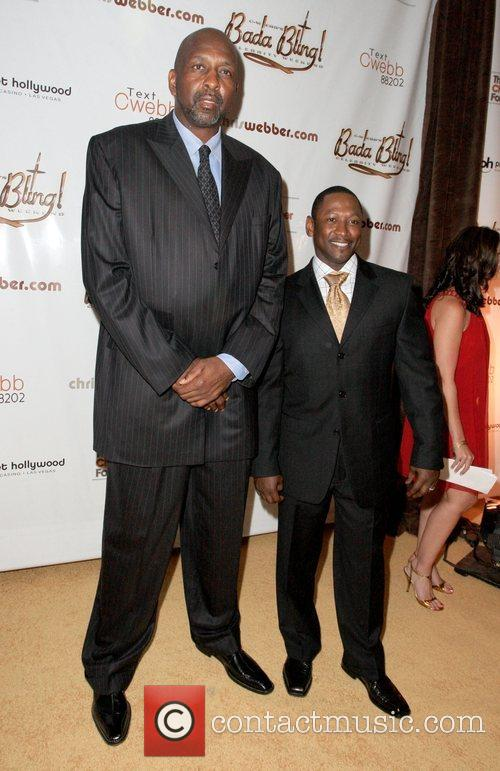 Moses Malone and Joe Torry,  Chris Webber...