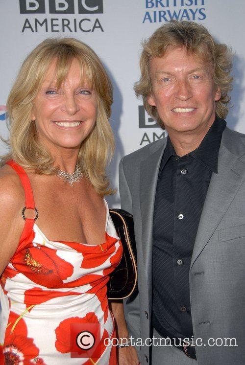 Nigel Lythgoe and wife The British Academy of...