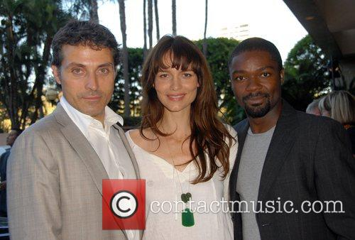 Rufus Sewell and Saffron Burrows
