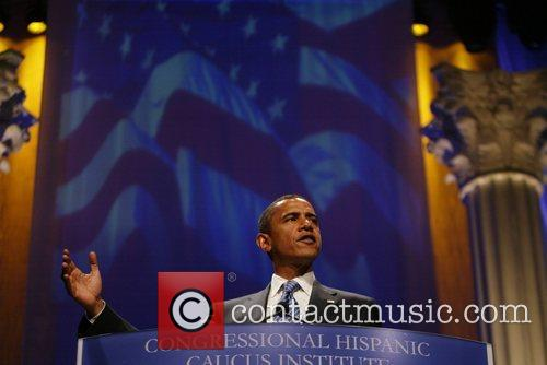 Senator Barack Obama  addressed the CHIC Hispanic...
