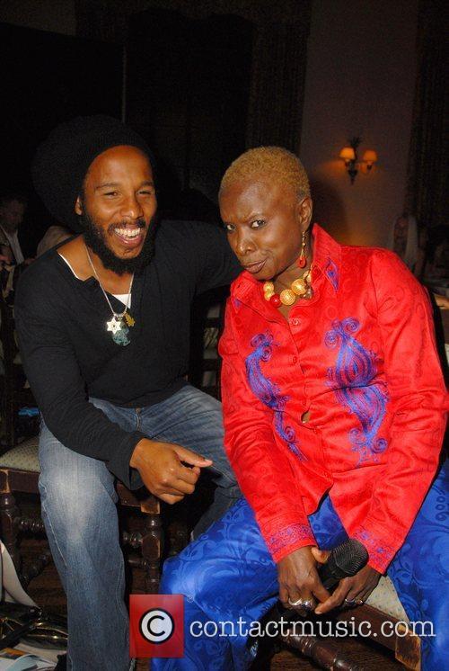 Ziggy Marley and Angelique Kidjo 4