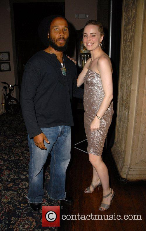 Ziggy Marley and Melissa George 7