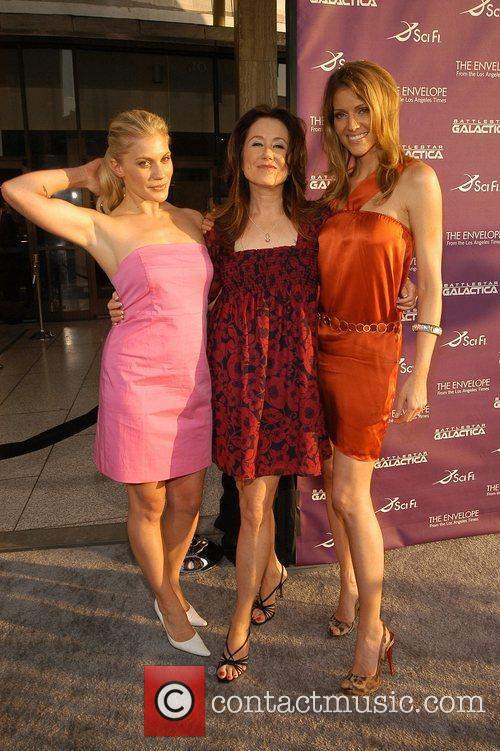 Katee Sackhoff, Mary McDonnell and Trica Helfer Academy...