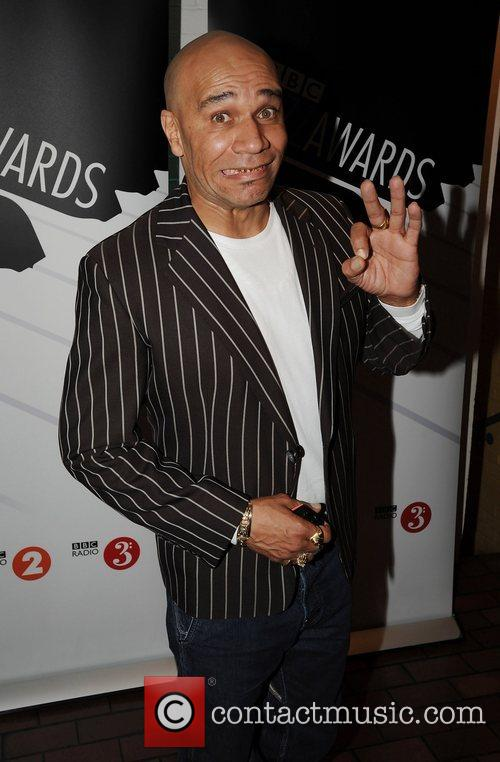 Goldie  at the BBC Jazz Awards 2008...
