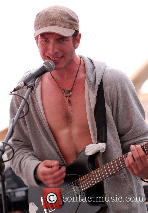 Performing live at Beach Break Live 2008 -...