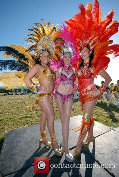 Cornish Samba Dancers 1