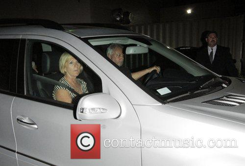 Sandra Beckham, Ted Beckham and Louise Adams Leave...
