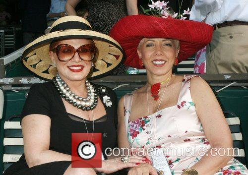 Georgette Mosbacher and lyn Mosbacher  Horse Racing...