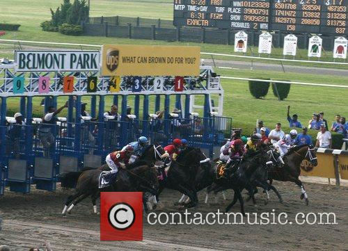 Horse Racing at Belmont Park