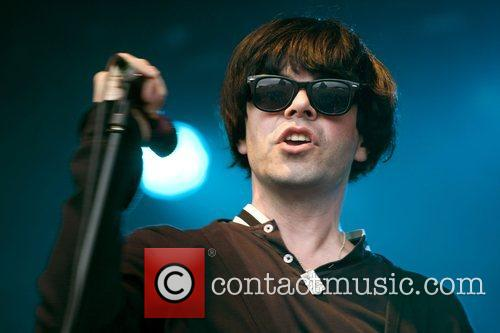 Tim Burgess of The Charlatans performs at Ben...