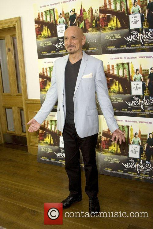 Sir Ben Kingsley  attends a screening of...