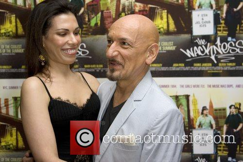 Daniela Lavender and Sir Ben Kingsley  attends...