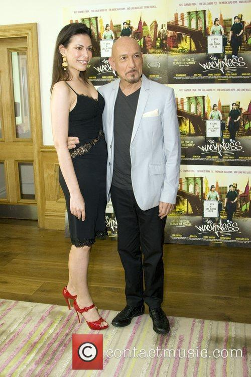 Daniela Lavender and Sir Ben Kingsley  attend...