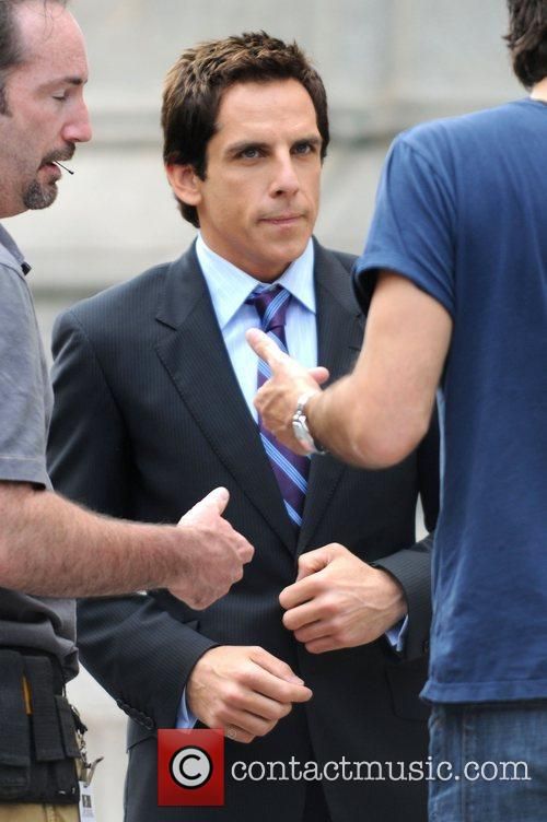 Ben Stiller on the set of his forthcoming...