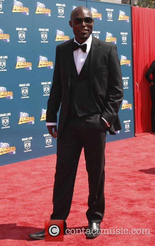 Jimmy Jean Louis BET Awards 2008 at the...