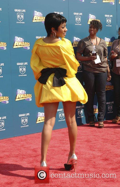 Keyshia Cole BET Awards 2008 at the Shrine...