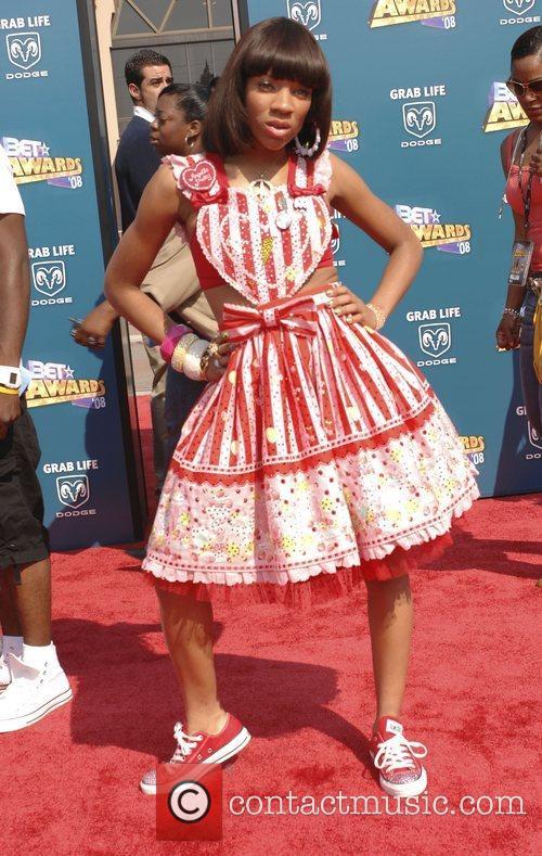 Lil' Mama  BET Awards 2008 at the...