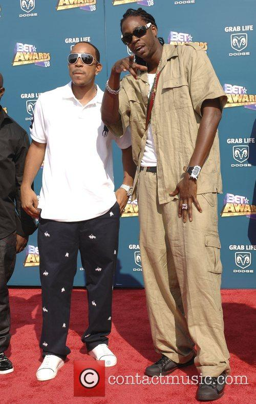Ludacris and guest BET Awards 2008 at the...