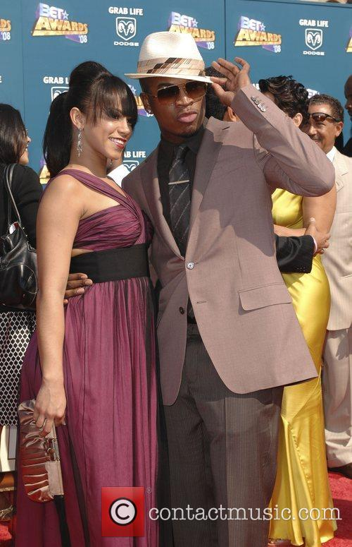 Ne-Yo and guest BET Awards 2008 at the...