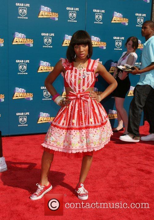 Lil Mama BET Awards 2008 at the Shrine...