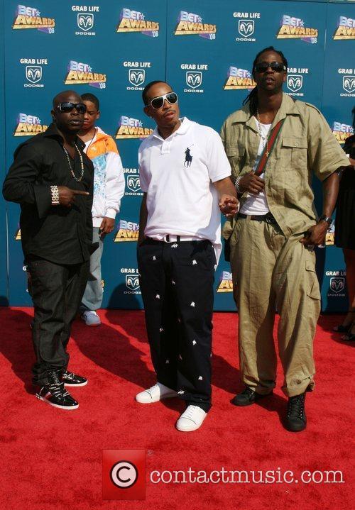 Ludacris and Playaz Circle BET Awards 2008 at...
