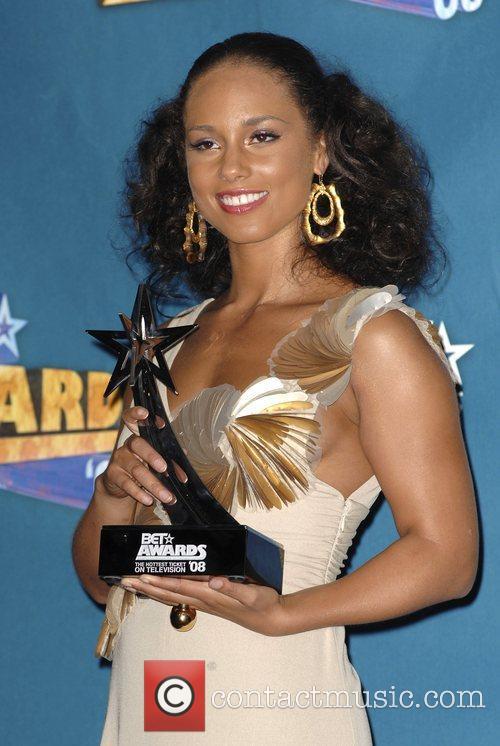 Alicia Keys BET Awards 2008 at the Shrine...