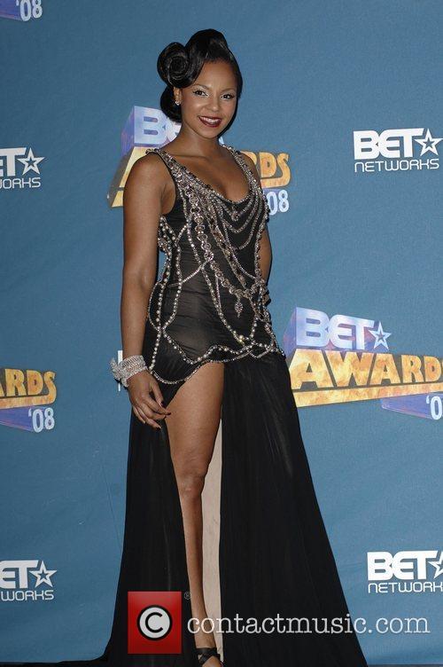 Ashanti BET Awards 2008 at the Shrine Auditorium...