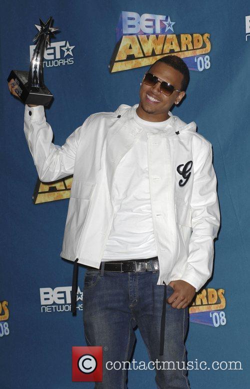 Chris Brown BET Awards 2008 at the Shrine...