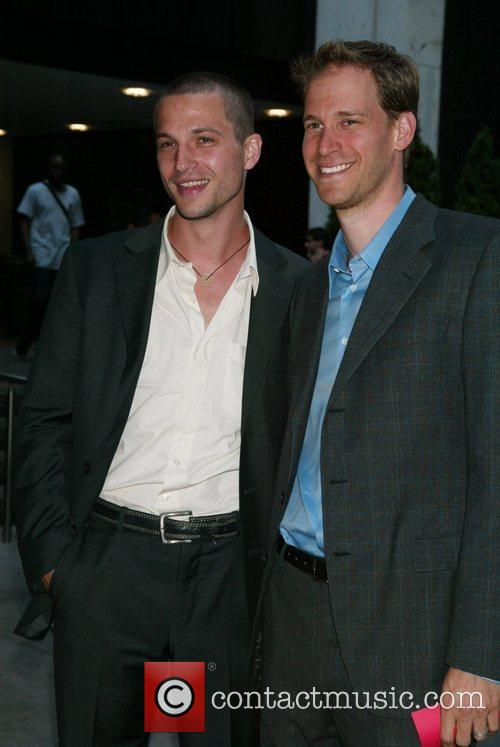 Logan Marshall-Green and David Korins Opening night of...