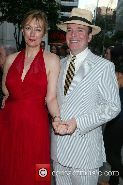 Susan Lyons and her husband Jefferson Mays Opening...