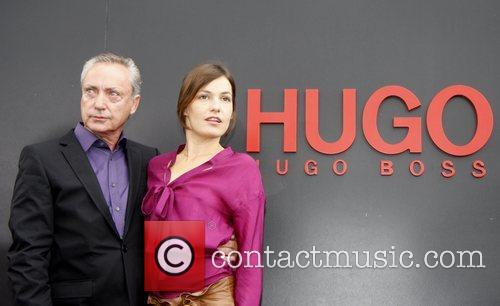 Udo Kier and Nicolette Krebitz