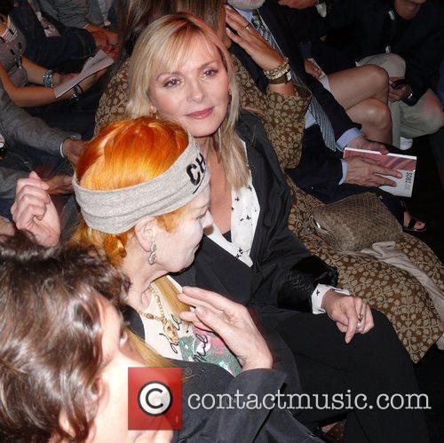 Kim Cattrall, Vivienne Westwood sitting front row Vivienne...