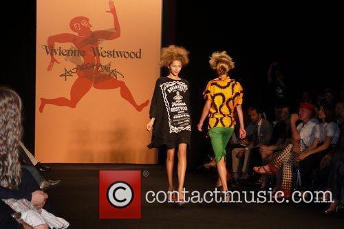 Vivienne Westwood Fashion Show 'Anglomania' at Bebelplatz
