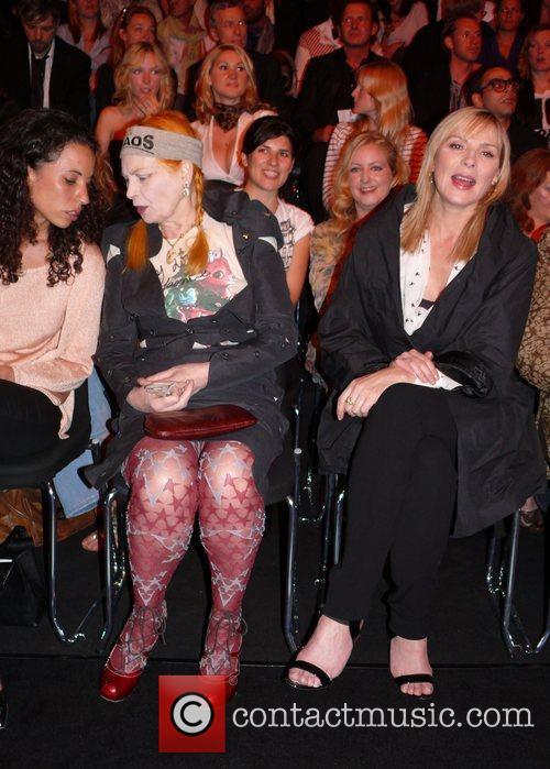 Vivienne Westwood, Kim Cattrall sitting front row Vivienne...