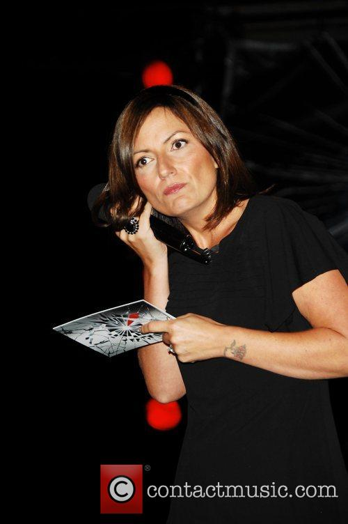 Davina McCall Big Brother 9 eviction night at...