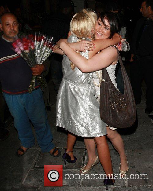 Rebecca Shiner and Stephanie McMichael of Big Brother...