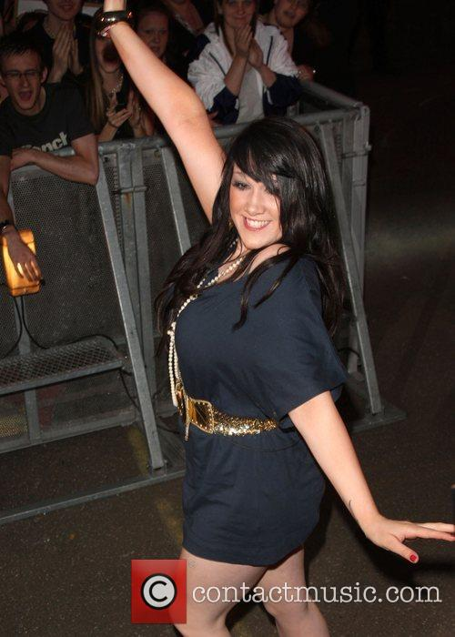 Rebecca Big Brother 9 launch night from Elstree...
